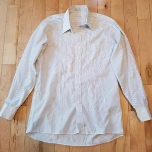 Christian Dior Men's button up dress shirt white